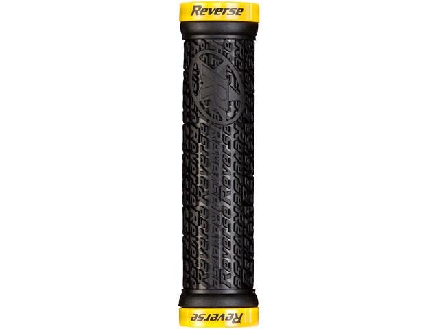 Reverse Stamp Lock On Griffe schwarz/gelb